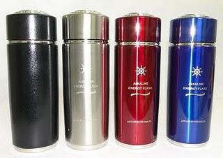 Alkaline Energy Flasks